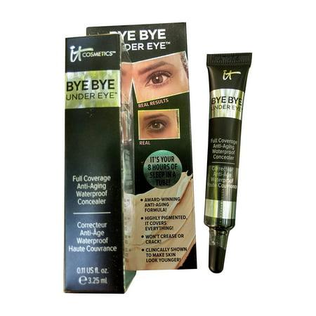 Bye Bye Under Eye Full Coverage Anti-Aging Waterproof Concealer 0.11 FL OZ It Cosmetics - 0.11 fl. oz / 3.12 ml (travel