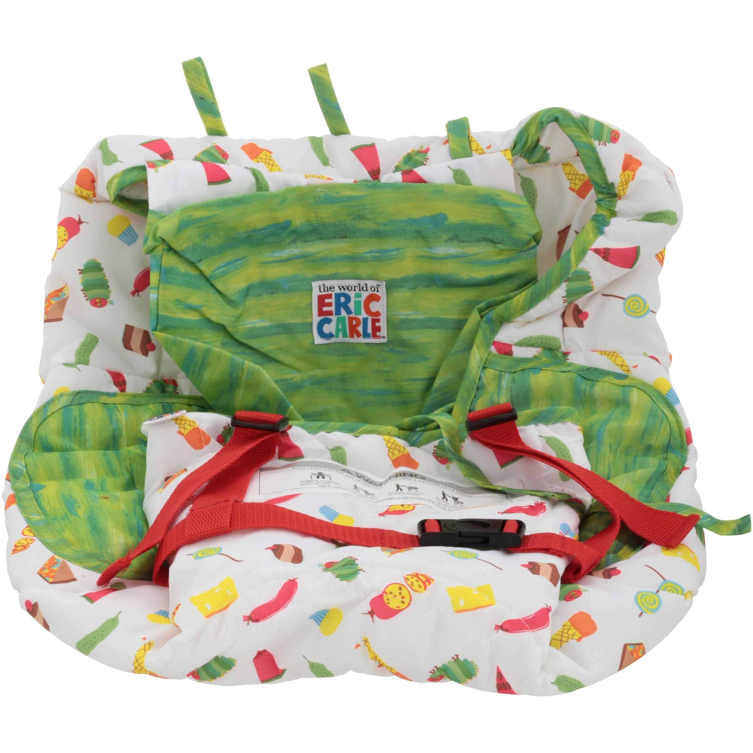 Click here to buy The World of Eric Carle The Very Hungry Caterpillar Shopping Cart & High Chair Cover by Eric Carle.
