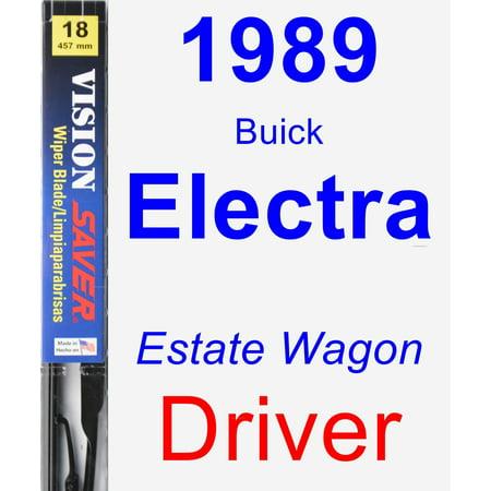 1989 Buick Electra (Estate Wagon) Driver Wiper Blade - Vision