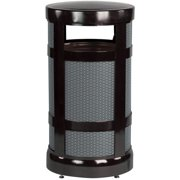 Rubbermaid Commercial Products A17ABZPL 17 gallon Radius Top Receptacle Bronze by Rubbermaid Commercial