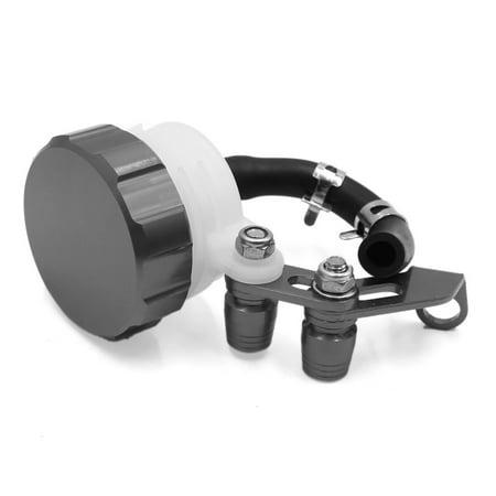 Titanium Brace (Titanium Tone Universal Scooter Front Brake Clutch Reservoir Tank Fluid Oil Cup )