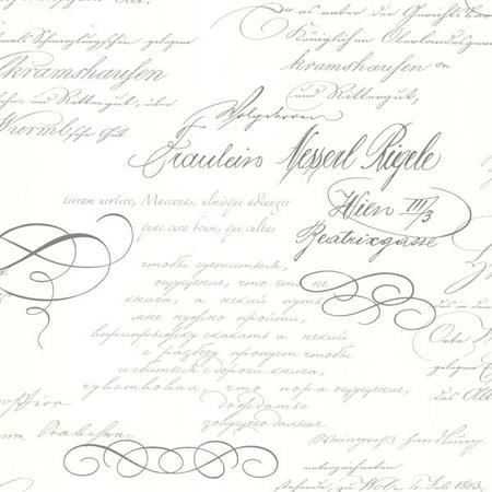 Ferdinand Slate Poetic Script Wallpaper
