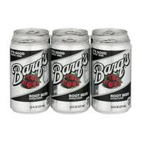Barq's Root Beer, 7.5 Fl. Oz., 6 Count
