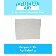 Aprilaire 35 Paper Wick Humidifier Water Pad Filter Fits 350, 360, 560, 560A, 568, 600, 700, 760, 760A, 768 (35), Designed & Engineered by Crucial Air