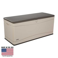 Product Image Lifetime 130 Gallon Outdoor Deck Storage Box Desert Sand