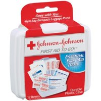 Deals on Johnson & Johnson Red Cross First Aid 12 pieces Kit