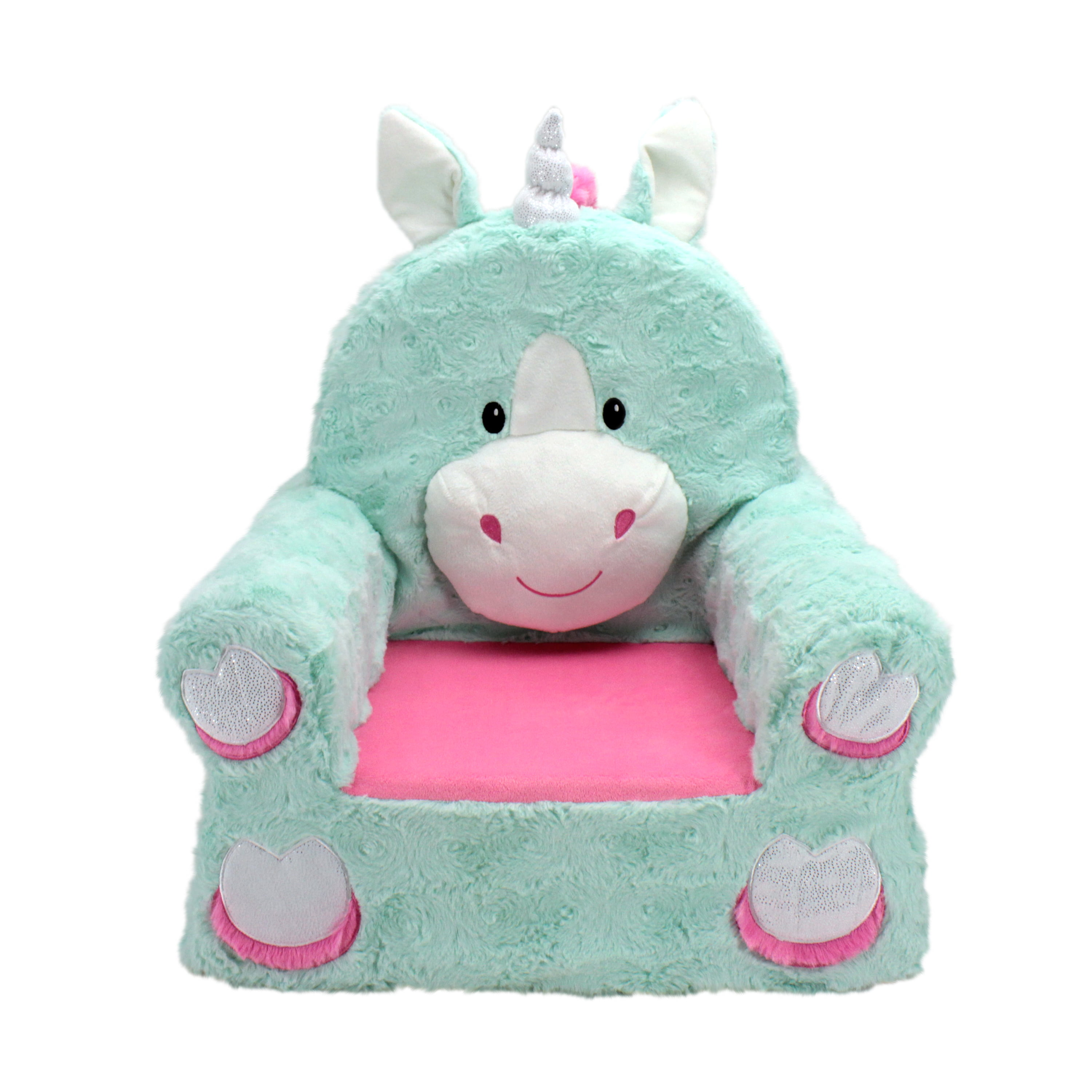 Sweet Seats Adorable Teal Unicorn Children S Chair