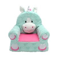 "Sweet Seats Adorable Children's Chair Ideal for Children Ages 2 and up, Standard Size, Machine Washable Removable Cover,13"" L x 18"" W x 19"" H"