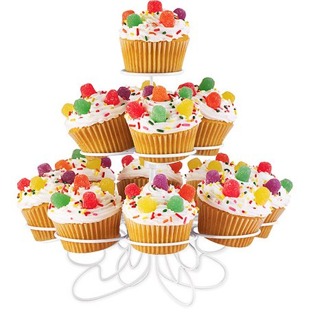 Wilton 3 Tier Cupcake And Treat Stand  13 Ct  307 834