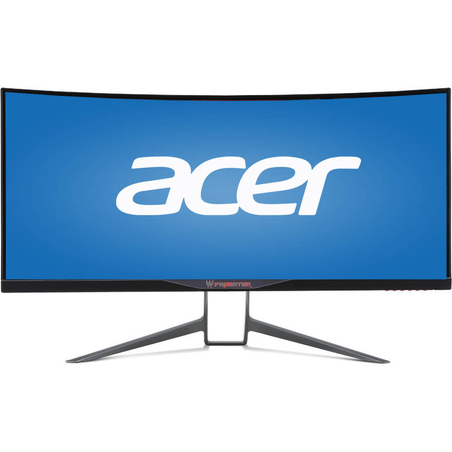 "Acer 34"" LED IPS UltraWide Curved Monitor (BMIPHZ Black) by Acer"