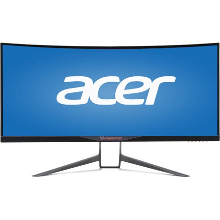 """Acer 34"""" LED IPS UltraWide Curved Monitor (BMIPHZ Black) by"""