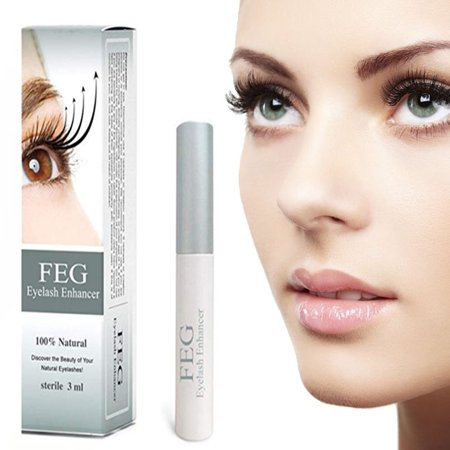 FEG Eyelash Growth Serum Enhancer and Lash Conditioner - Advanced Enchancing Formula Primer - Beauty Treatment for Natural Thick & Long