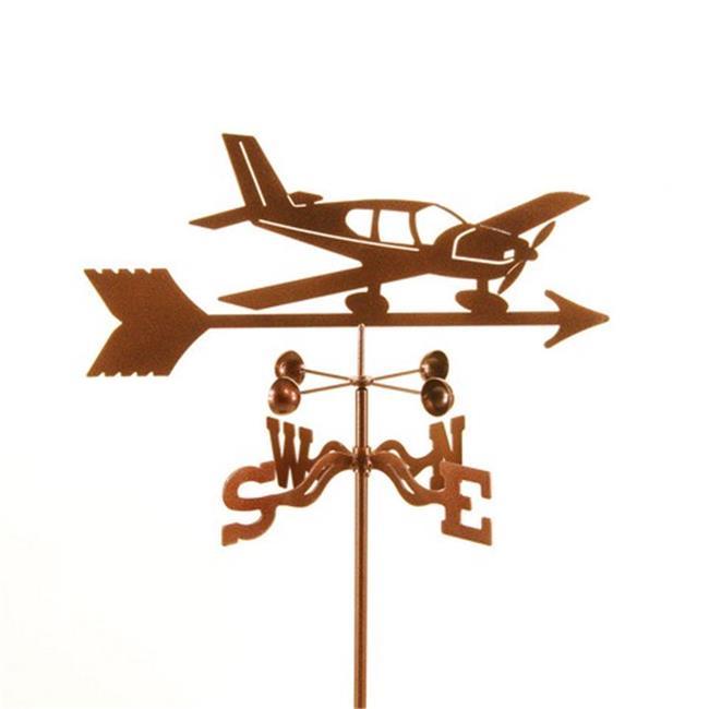 EZ Vane EZ1008-DK Low Wing Airplane Weathervane with Deck Mount - image 1 de 1