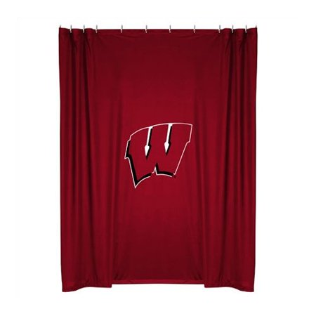 NCAA University of Wisconsin Shower Curtain