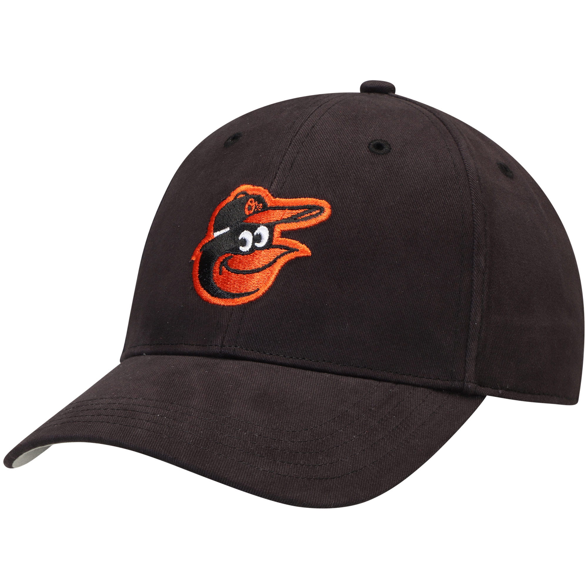 Baltimore Orioles '47 Youth Basic Adjustable Hat - Black - OSFA