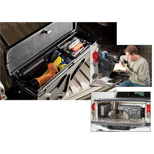 Undercover SC401P 05-15 Tacoma Passenger Side Swing Case Storage Box