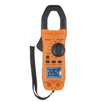 Vici Hand-held LCD Digital Clamp Meter Multimeter AC/DC Voltage AC/DC Current Capacitance Continuity Test Temperature Resistance Diode Measurement Tester