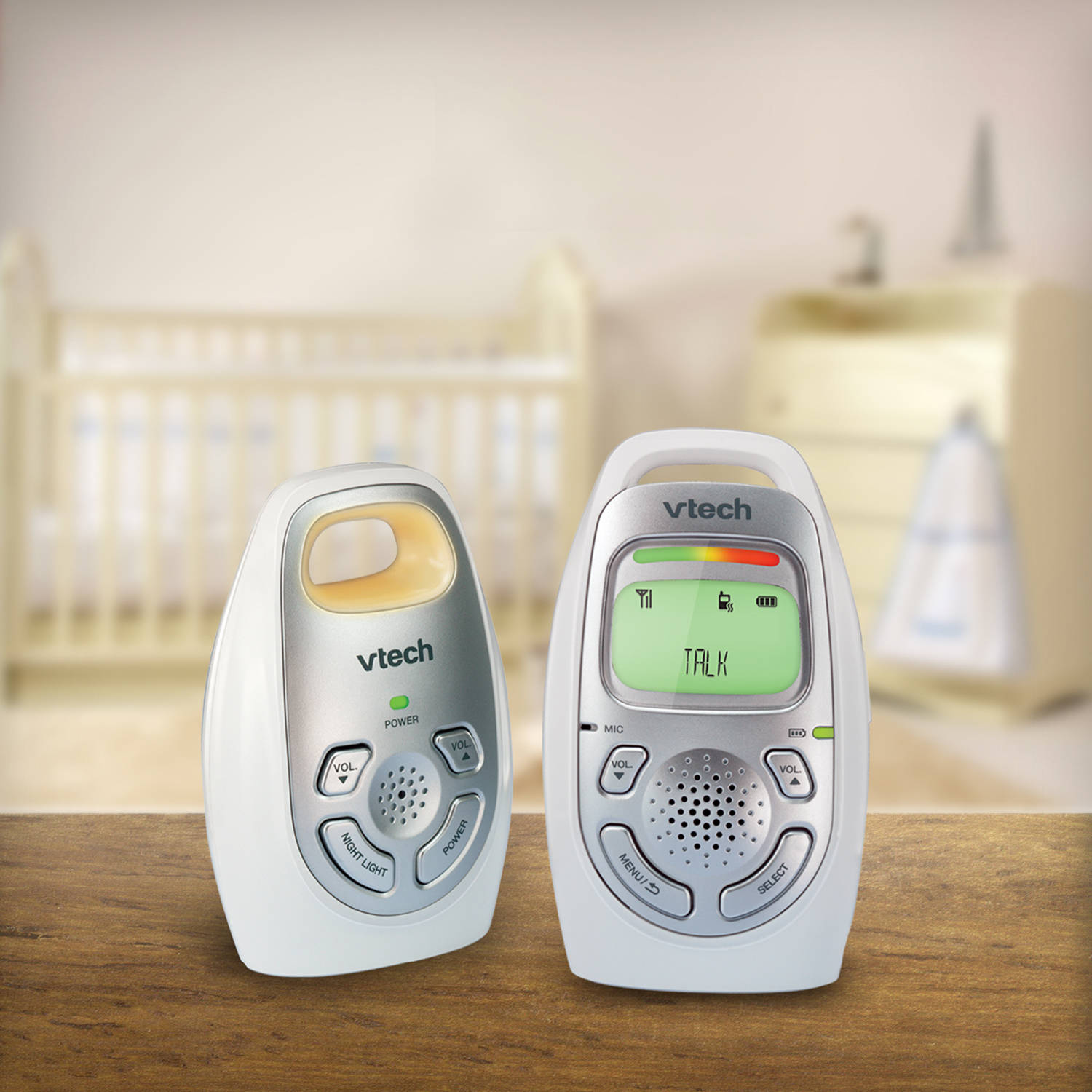 VTech DM223, Safe & Sound® DECT 6.0 Digital Audio Baby Monitor