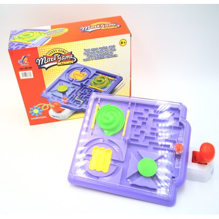 4 In 1 Maze Puzzle Game