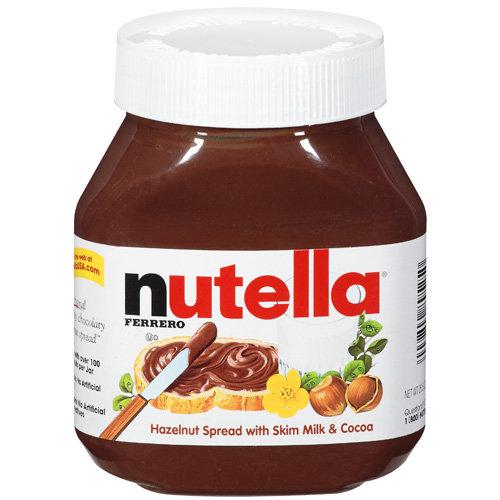 Nutella: Hazelnut With Skim Milk & Cocoa Spread, 26.5 oz