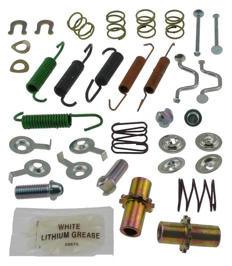 13517Q Carlson Disc Brake Hardware Kit