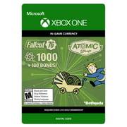 Fallout 76 1000 Atoms + 100 Bonus, Bethesda, Xbox, [Digital Download]