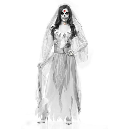 Halloween Ghost Bride Adult Costume - Ghost Bride Costume For Halloween