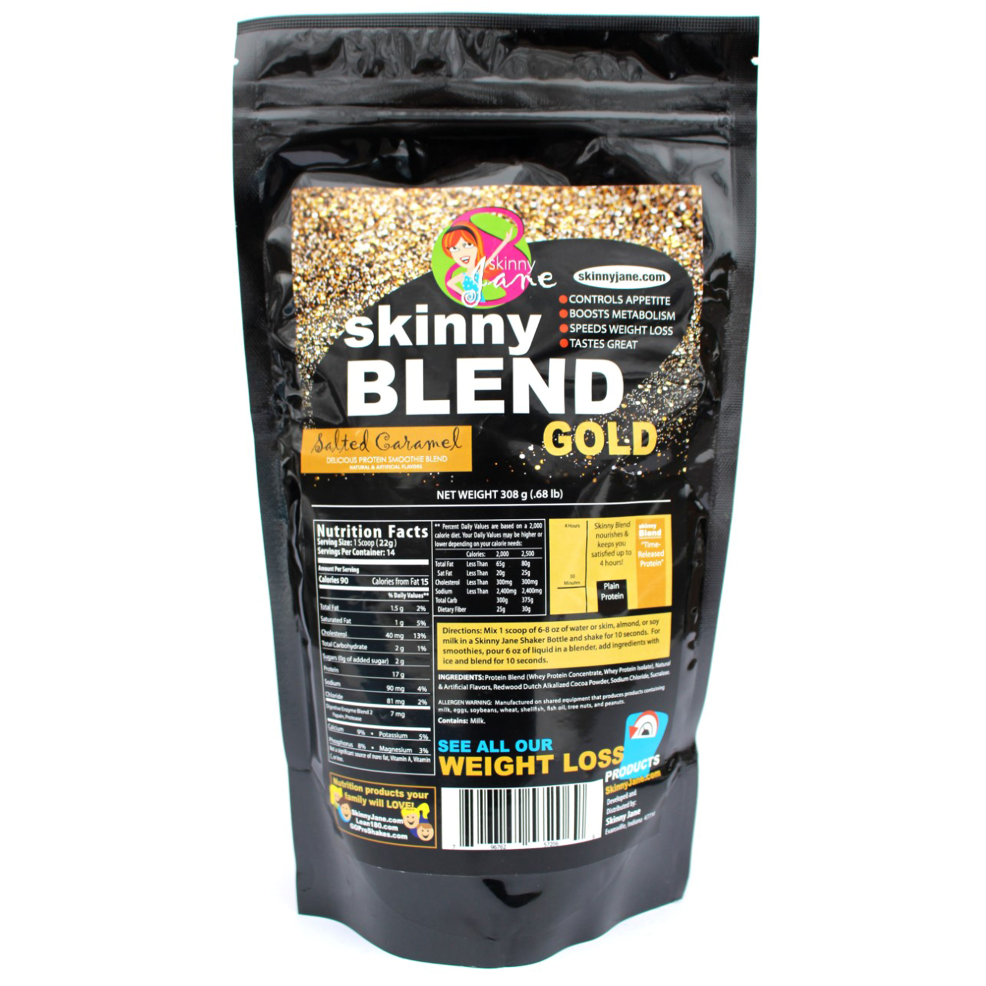 Skinny Blend Gold! Best Tasting Protein Shake for Women ...