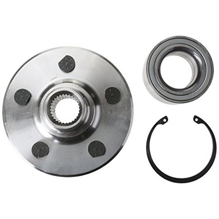 Timken HA590259K Axle Bearing and Hub (Complete Hub Axle)