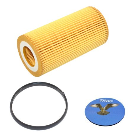 HQRP Oil Filter for Volkswagen VW Beetle 2006 2007 2008 2009 2010 2012 2013 2014 06 07 08 09 10 12 13 14 plus HQRP (Best Oil For Vw Beetle)