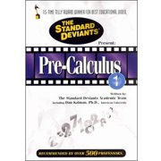 Standard Deviants: Pre-Calculus, Vol. 1 by GOLDHIL HOME MEDIA INT L