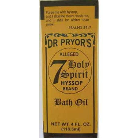 RBI Oils 4oz Seven holy Hyssop Bath Ceremony Spiritual Protection
