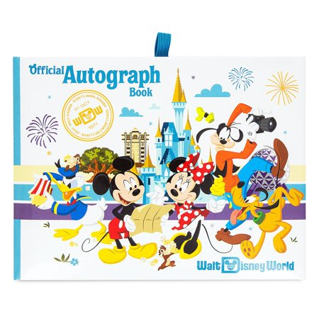 Disney Parks Walt Disney World Mickey & Friends Autograph Book New
