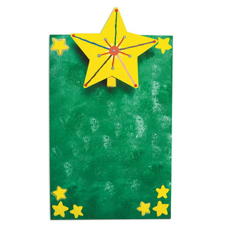 Star Mini Clipboard Craft Kit Pk12 (Mini Clipboards Bulk)