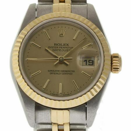 Rolex Datejust 79173 Steel Women Watch (Certified Authentic & Warranty)