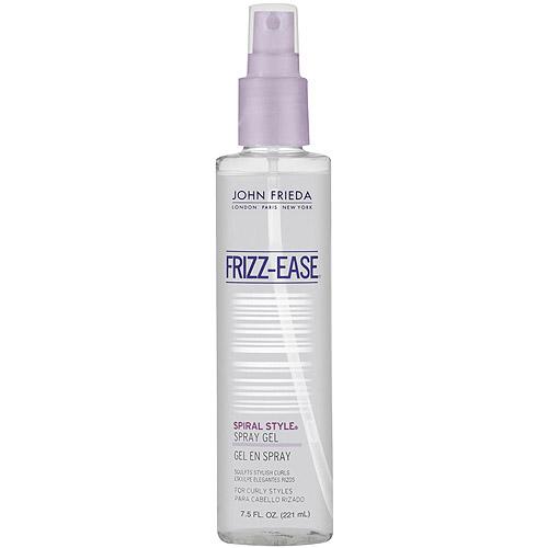 John Frieda Frizz-Ease Spiral Style Curl-Defining Spray Gel 7.5 oz