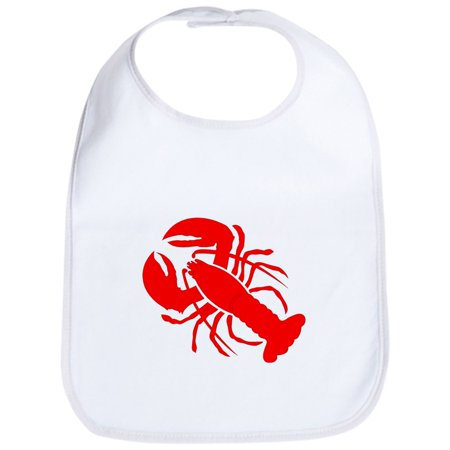CafePress - Lobster Bib - Cute Cloth Baby Bib, Toddler - Baby Lobster