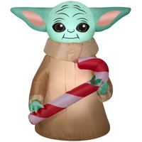 Star Wars 5` The Child with Candy Cane by Gemmy Industries