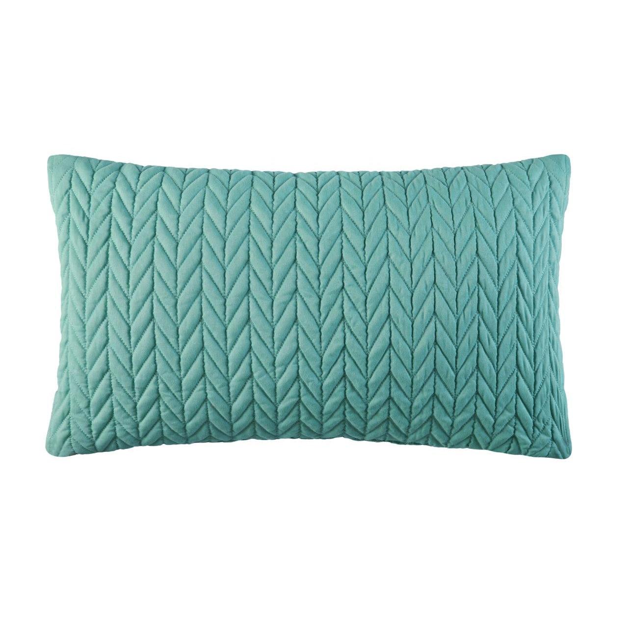 Five Queens Court  Catori Jade Boudoir Throw Pillow