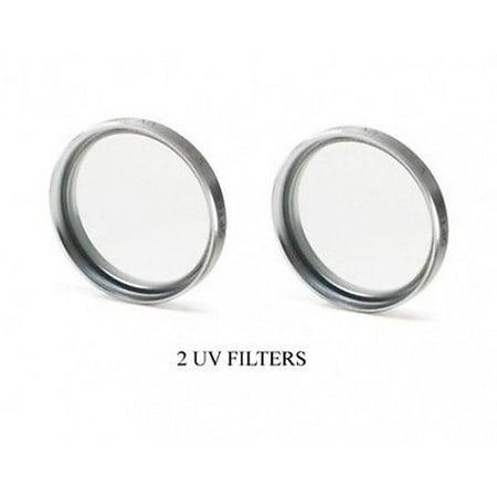 2 UV Filters for Sony DCRTRV460, Sony DCRTRV480, Sony