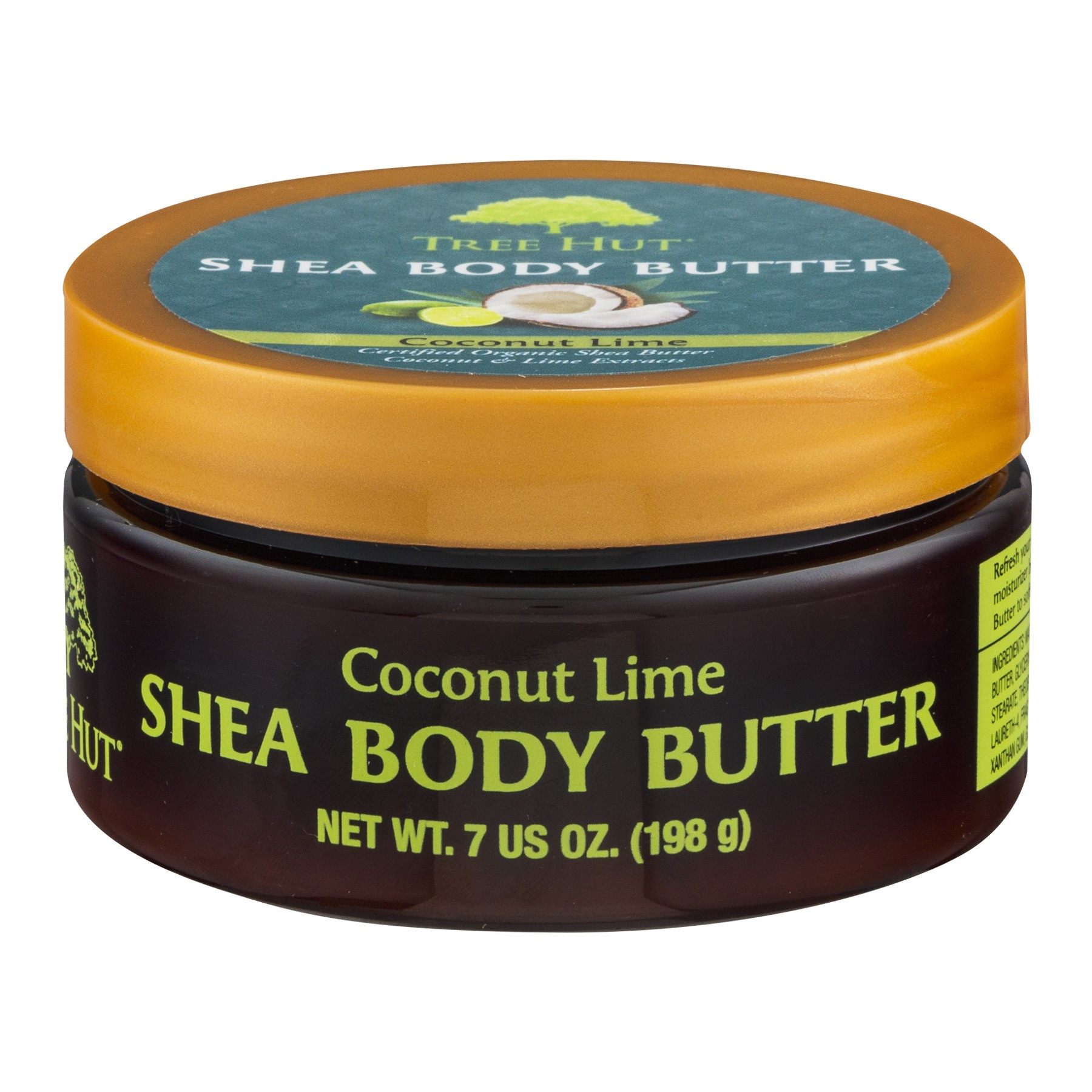 Tree Hut Shea Coconut Lime Body Butter, 7 oz