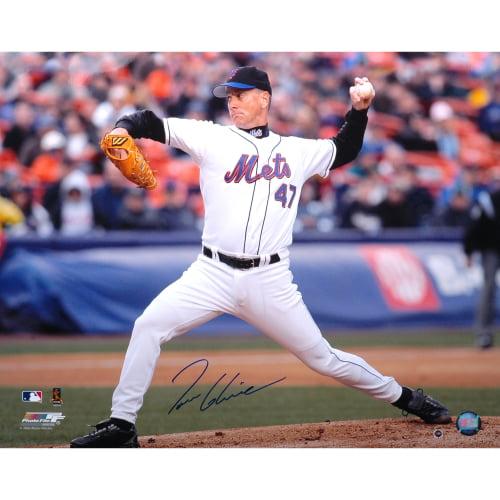 "Tom Glavine New York Mets Fanatics Authentic Autographed 16"" x 20"" Horizontal Pitching Photograph - No Size"
