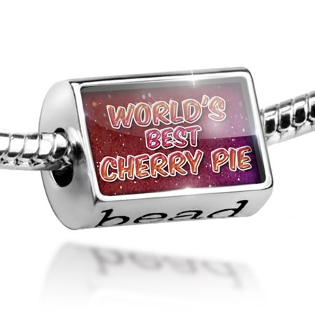 Bead Worlds best Cherry Pie, happy sparkels Charm Fits All European