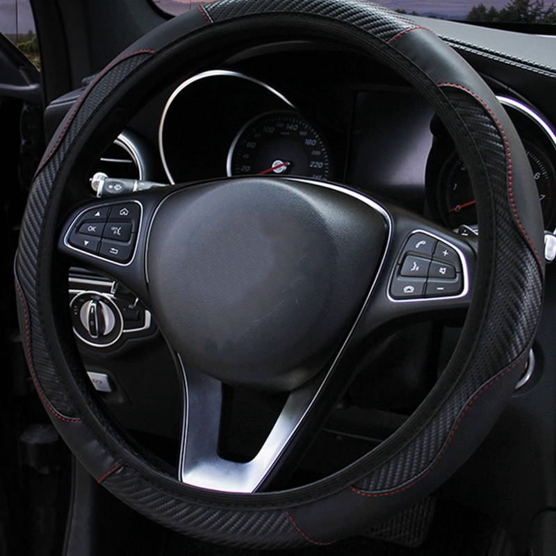 Car General Accessories Anti Slip and Sweat Absorption Owl Automobile Elastic Steering Wheel Cover