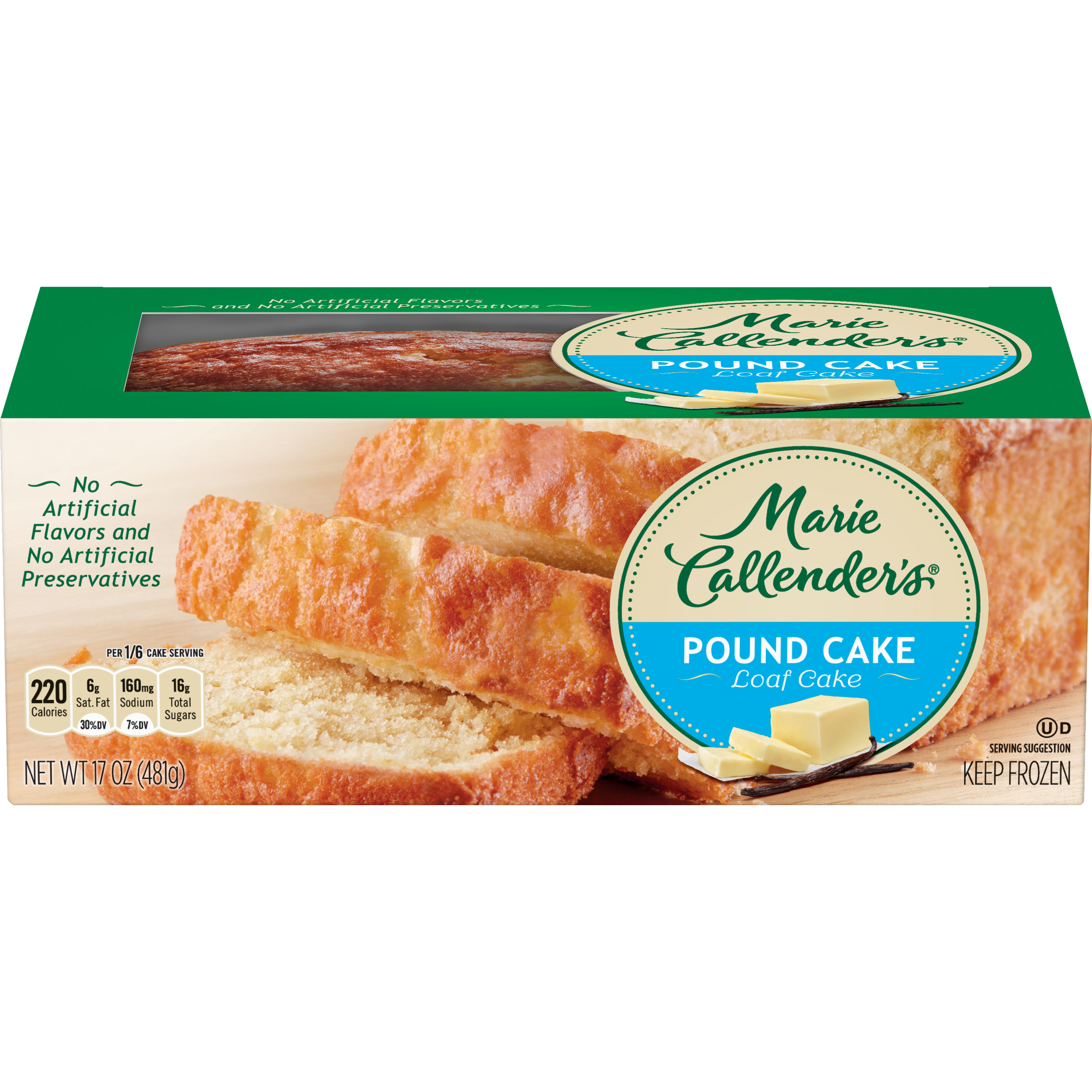 Marie Callender's Pound Cake, 17 Ounce