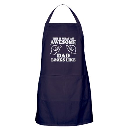 Cardinals Grilling Apron (CafePress - This Is What An Awesome Dad Looks Like T Shirts Ap - Kitchen Apron with Pockets, Grilling Apron, Baking Apron)