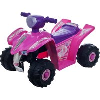Rockin' Rollers Pink Princess Mini Quad Girls' 6-Volt Battery-Powered Ride-On