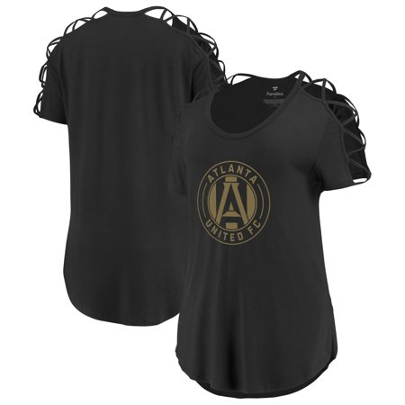 Atlanta United FC Fanatics Branded Women's Iconic Best Comeback Tri-Blend T-Shirt -