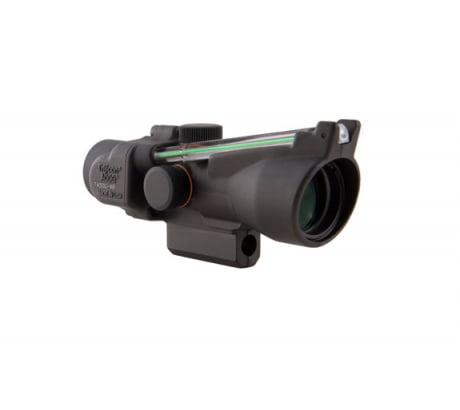Trijicon ACOG 3x24 Crossbow Scope w/ Green Chevron Reticle, 300-340FPS