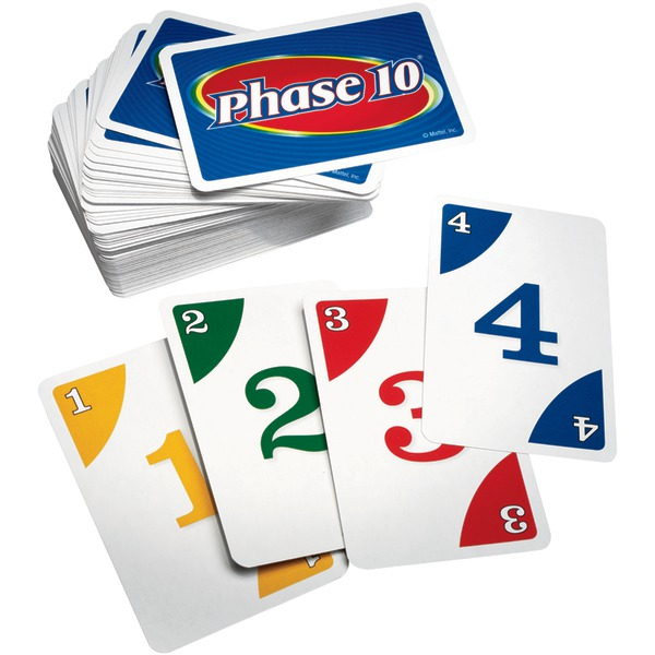 Mattel PHASE TEN CARD GAME by